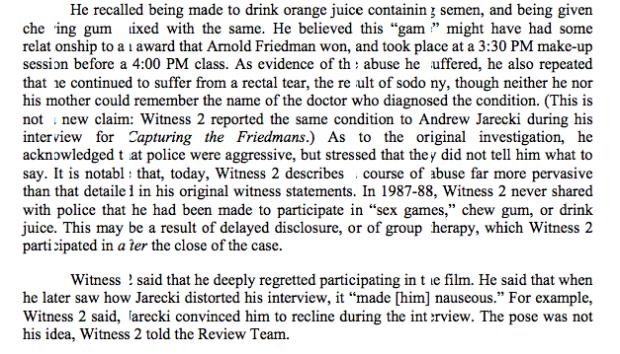 Andrew Jarecki Distorted Interview